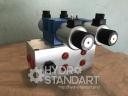 Плита BMA10 ду 10 3х местная с предохранительным клапаном Cetop 5 ( ве10, 4we10)