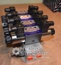 Плита монтажная импортная 4-х секционная с клапаном Cetop 3